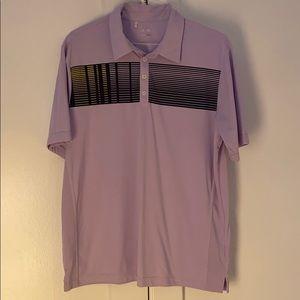 ⛳️ Adidas Men's Light Purple Golf Polo - L 🏌️♂️